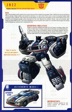 Transformers Universe - Gallery: G1 Jazz
