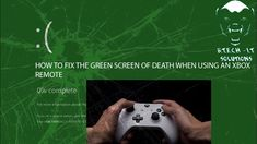 How to fix XINPUT error on windows 10 - Green / Blue screen of death - G... Windows 10, Xbox, Blue Green, Remote, Death, Youtube, Duck Egg Blue, Youtubers, Xbox Controller