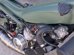 Mbk 51 MG Street Fighter – Tomahawk Mopeds Custom Moped, Motorised Bike, Motorcycle Engine, 50cc, Mopeds, Street Fighter, Scrambler, Classic Cars, Engineering