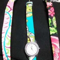 VERA BRADLEY WATCH 3 WATCH BANDS, SEE PICTURES FOR DESCRIPTIONS Vera Bradley Accessories Watches