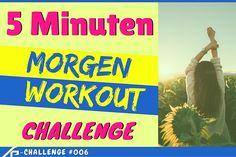 Teil 6 unserer Kraftpuls-Challenge Serie: 5 Minuten Morgen-WorkoutChallenge Mit unserer neuen Morgen-Workout Challenge bist du in maximal 5 Minuten startklar und voller Energie für den ganzen Tag. Gleich morgens nach dem Aufstehen ein Glas Wasser trinken und mit der Challenge beginnen. Wenn du danach ein nahrhaftes Frühstück zu dir nimmst, steht einem erfolgreichem Tag nichts …