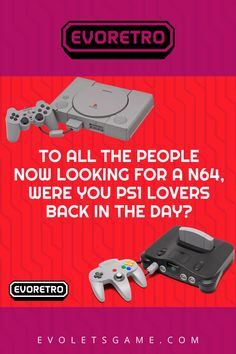 #EVORETRO has the best extensive selection of retro, classic video games and consoles for the following systems: #Atari, #Nintendo #Sega #GameBoy #SuperNintendo #N64 #PlayStation #Dreamcast #Gamecube #Xbox #Wii #3DS and more. #retrogaming #videogames #videoconsoles #gamingaccesories #videogameaccessories #vintagegaming #videogameposters #videogames#retrovideogames #funkopop #gamefigurines #toycollections #retrotoys #vintagetoys