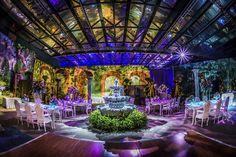 Turn your Disney's Fairy Tale Weddings reception into a secret garden soiree with mesmerizing décor