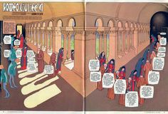 Comic as Theater: Gianni De Luca's Romeo and Juliet Comic Book Artists, Comic Artist, Comic Books, William Shakespeare, Comic Layout, Romeo And Juliet, Lucca, Drawings, Sketching