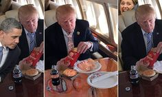 Almanzoor Newspaper - Taunsa Shareef: Trump's McDonald's get together meal sparks a Phot...