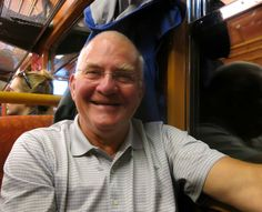 Harald provided fascinating commentary on Norway's Flåm Rail spur off the Oslo-Bergen train.