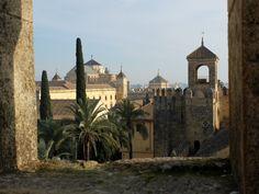 Vue sur Cordoue, depuis l'Alcazar (Cordoue / Andalousie / Espagne)