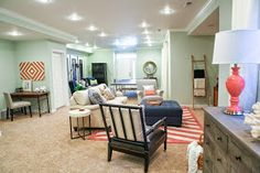 6th Street Design School | Kirsten Krason Interiors : Family Basement Reveal
