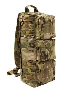 Built as a survival bag for Americas elite special operations forces, the SOTech Go Bag is cylindrically shaped for easy access and extraction from a downed aircraft or burning Humvee. It fits perfectly in the spaces that exist in a helicopter or Humvee