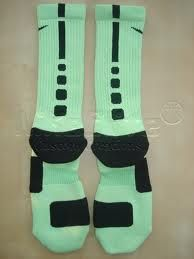Nike Elite Socks do these glow in the dark?