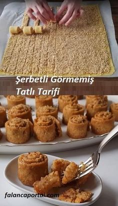 Şerbetli Görmemişin Tatlı Tarifi – Tatlı tarifleri – Las recetas más prácticas y fáciles Cake Recipe Using Buttermilk, Dessert Weight Watchers, Fingers Food, Cookie Recipes, Dessert Recipes, Yummy Food, Tasty, Turkish Recipes, Chocolate Recipes
