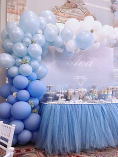 Balloon Arch, Balloon Arches, Bubblegum Balloons - Home Page Baby Shower Decorations For Boys, Birthday Party Decorations, Birthday Parties, Frozen Balloon Decorations, Balloon Arch Diy, Ballon Arch, Baby Decor, Baby Shower Balloons, Birthday Balloons