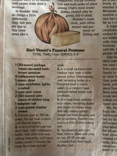 Keri Benito's Funeral Potatoes (WSJ)