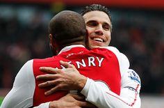 Brothers in arms Arsenal Goal, Van Persie, Brothers In Arms, Sacks, Sports News, Premier League, Rugby, Football, Soccer