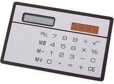 Taschenrechner Cardsize, silber/schwarz, NEU, EK schwarz