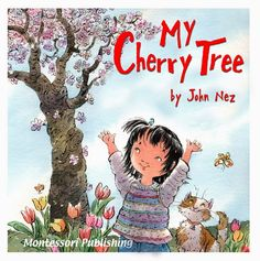 John Nez Illustration: My Cherry Tree - my first published book