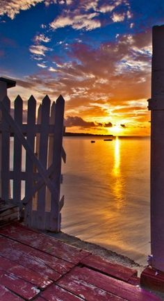 Sunset at Grenada