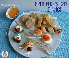 13 Tricks for an April Fool's Day Treat Dinner