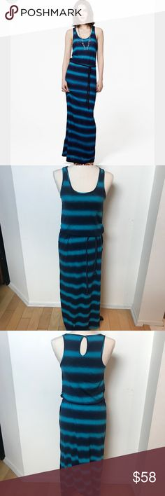 [Lucky Brand] Stevee Spray Tie Dye Maxi Dress Create instant casual drama in our cotton-blend Stevee Spray Tie-Dye Maxi dress, which easily goes from beach to bonfire (just add an easy pullover).  Gently worn and in excellent condition, no flaws or defects.  No modeling and now trades   60%COTTON/40%MODAL Turn Garment Inside Out  Machine Wash Cold With Like Colors Delicate Cycle Do Not Bleach Tumble Dry Low ****#1-196 Lucky Brand Dresses Maxi