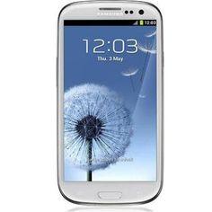 Smartphone Samsung Galaxy S III 9300 branco desbloqueado, por apenas R$1799.10