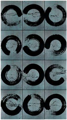 Fabienne Verdier - Contemporary Artist - L'art de la calligraphie monumentale - Polyphonie, Ascèse - 2013
