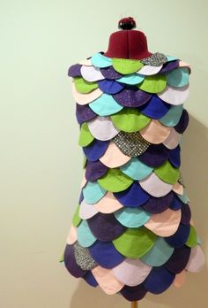 Rainbow Fish Halloween Costume by Trish Stitched | Project | Sewing / Costumes | Dresses | Kollabora