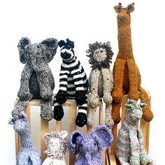 Safari Friends by Knitting at Knoon