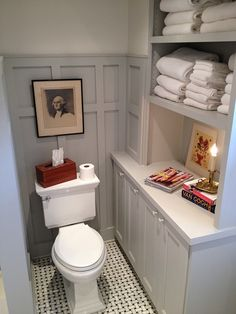 """Master Bath After (with """"hacked"""" Ikea Cabinets made into a hutch) 019, via Flickr."""