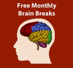 Brain break ideas for every month of the year.  Each month follows a theme and can be used throughout the year.