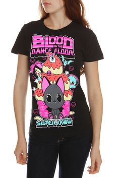 Blood on the Dance Floor Kawaii Girls T-Shirt #hottopic $20.50-24.50 (bogo 50%) (sizes xs-3x) (I got this shirt at warped, not in girl sizes, and was a mint green shade instead of black. but I still love this shirt!)