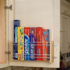12 most clever ways to organize your kitchen youre welcome organizations wraps and magazines - Organizing Kitchen Ideas