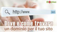 Dove e come trovare un dominio per il tuo sito La scelta di un nome di dominio è una delle operazioni più importanti da fare per la gestione di un sito: prima ancora di acquistare l'hosting, infatti è necessario avere le idee chiare sul nome e sulle modalità, che vedremo in questo articolo, per acquisire un nome. È bene ricordare che l'operazione è irreversibile una volta... http://www.stophost.it/blog/dove-e-come-trovare-un-dominio-per-il-tuo-sito-334.html #tutorial #webhosting #dominio