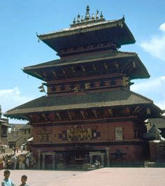 Dattatreya Temple (I recently located some scanned images from my travels in the Himalayas and Nepal)