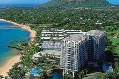 OAHU and MAUI  The Kahala Hotel  Resort sits on a fabulous beachfront location. Delight in spacious rooms and elegant suites, afternoon tea in the Veranda and island dining at wonderful Hoku's. Splash in the calm waters, admire the dolphins, and relax at the Spa.  MAKENA BEACH  GOLF RESORT Located on Maui's sunny southern shore beside a white-sand beach, this Resort offers sweeping ocean-views, a tennis club, oceanfront spa cabanas, and Maui's famed Turtle Town.