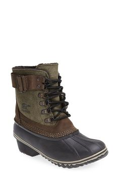 SOREL 'Winter Fancy II' Waterproof Lace-Up Boot (Women) | Nordstrom