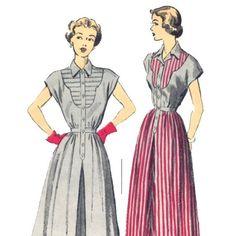 Western Style Shirt Dress
