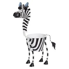 I <3 Target. They have this zebra and lots of other animal planters...I want them all!