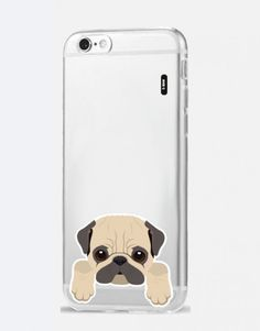 funda-movil-animales-carlino Phone Cases, Iphone, See Through, Dog Design, Mobile Cases, Dogs, Animales, Phone Case