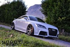 Photo gallery with 12 high resolution photos. Check out the Audi TT-RS with Rohana Wheels images at GTspirit.