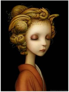 """The gorgeous paintings of Naoto Hattori """"Nothing but Perception"""" solo show, opens April 12th at Dorothy Circus Gallery"""