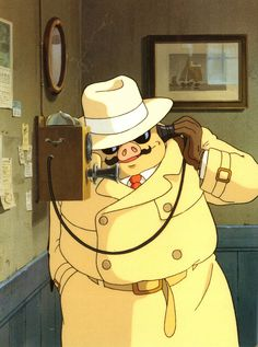 Porco Rosso davidcharlesfoxexpressionism.com #studioghibli #hayaomiyazaki…