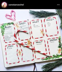 18 Christmas Bullet Journal Ideas For Your Inspiration.  | Angela Giles