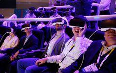 virtual reality, samsung gear vr; sony