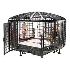WWE Elimination Chamber Playset, Satan's Structure
