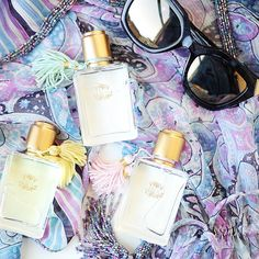 Hold the Phone: Calypso St Barths Mimosa is Back?! Oh yes. This sparkling summery fragrance (plus two new scents) hit stores this week. So even if you can't fit that tropical vacation into your schedule, you can at least smell like one! #Calypso #Calypsostbarth #Shesintheglow #Calypso #StBarth #Mimosa #Fragrance #Fendi
