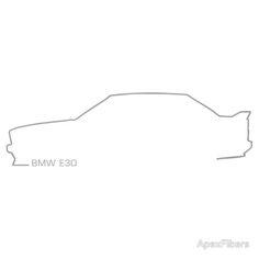 BMW E30 M3, 3 series silhouette