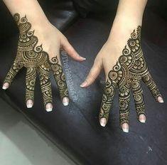 الرجاء الحجز مسبقا / Advance Booking is Must 973 33823989 Indian Henna Designs, Mehndi Designs Book, Modern Mehndi Designs, Mehndi Designs For Girls, Mehndi Design Pictures, Bridal Henna Designs, Mehndi Images, Simple Mehndi Designs Fingers, Finger Henna Designs