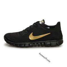 73d7225f619f Nike Free 3.0 V2 Mens Shoes Black Gold  55.90 Nike Gold