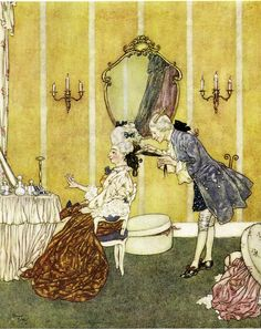 Edmund Dulac - *Cinderella* from Perrault's Fairy Tales