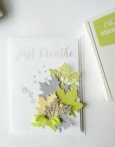 Stampin' Up! Colorful Seasons and Seasonal Layers stamp set and dies bundle. There are so many things you can create with these!